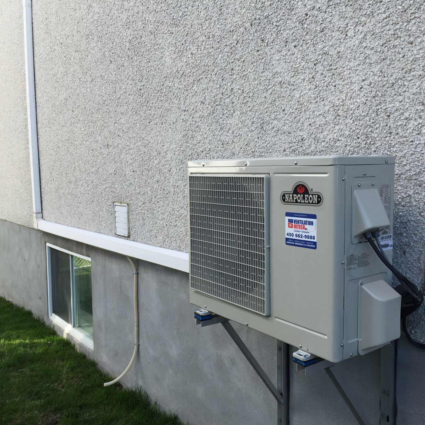 climatisation et chauffage Westmount
