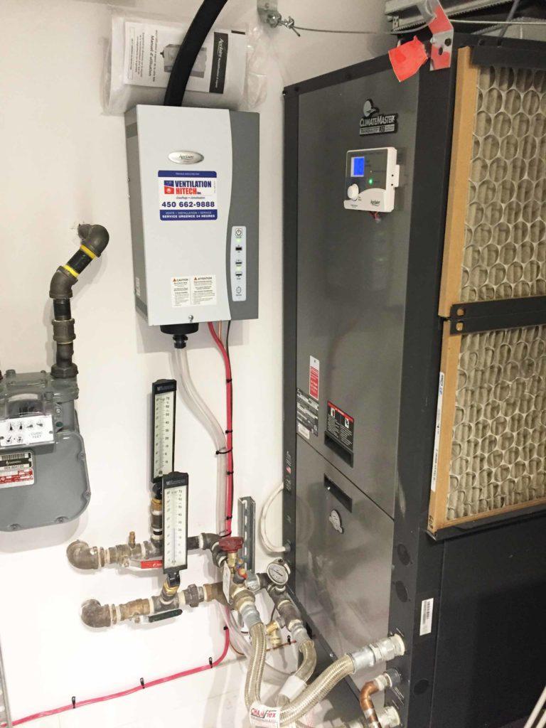 humidificateur géothermie