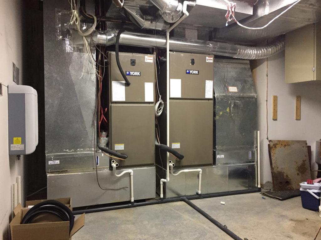système de filtration ventilation york